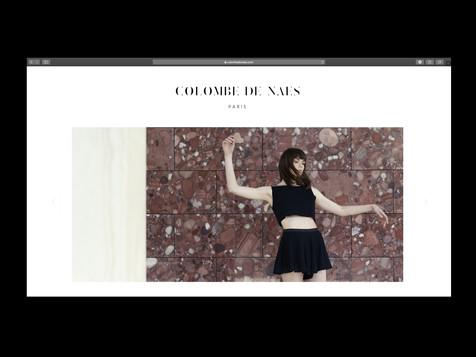 Colombe de Naes / site internet