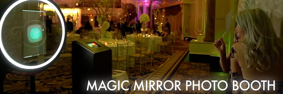Magic Mirror Photo Booth for Weddings