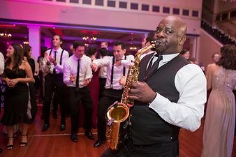 wedding reception bands