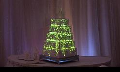 Wedding Cake Video Mapping