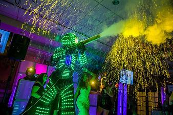 LED Roboto For Wedding Entertainment