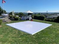 White Dance Floors For Weddings