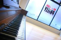 MTP Piano in Studio A