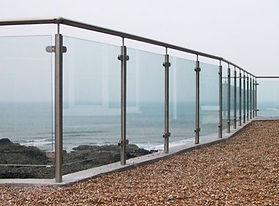 Modular Glass Balustrades