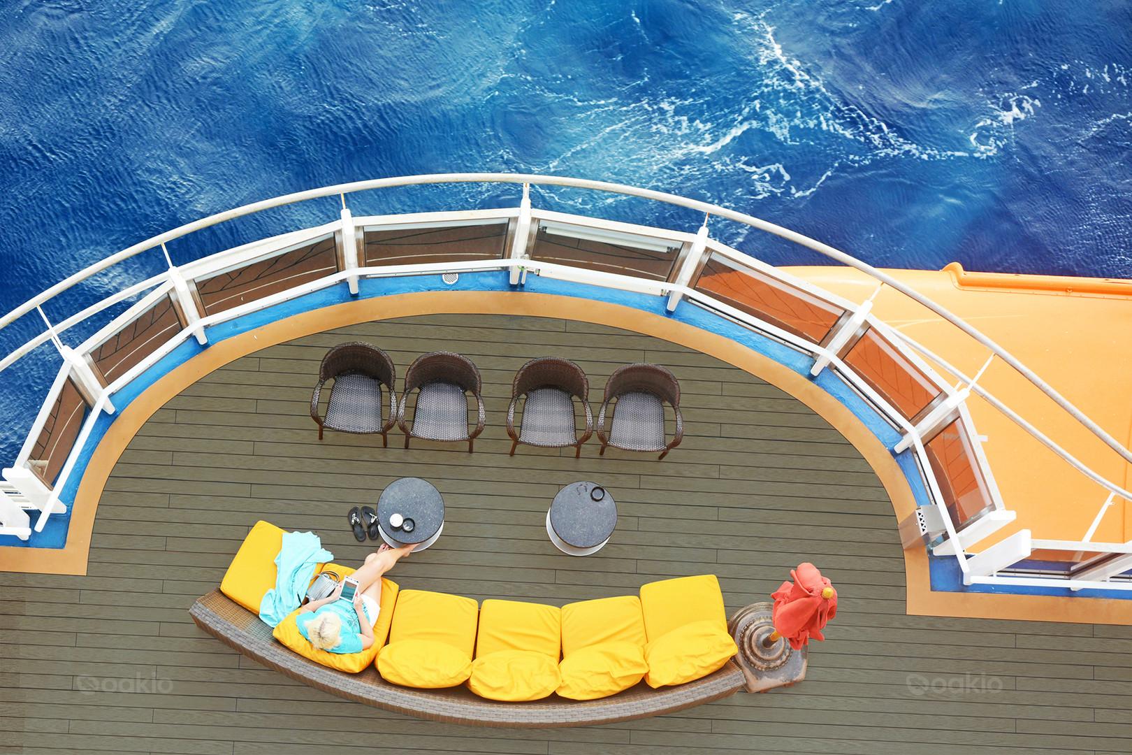 Oakio Decking on Deck