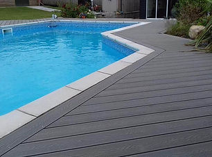 Composite Decking-Swimming Pool