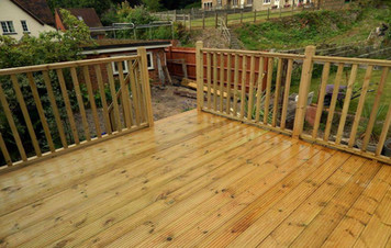 Installed by Peters Decking Services