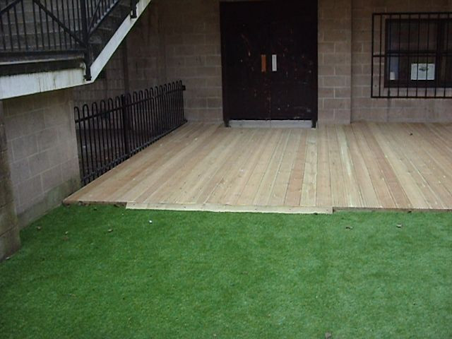 Installed Peters Decking Services