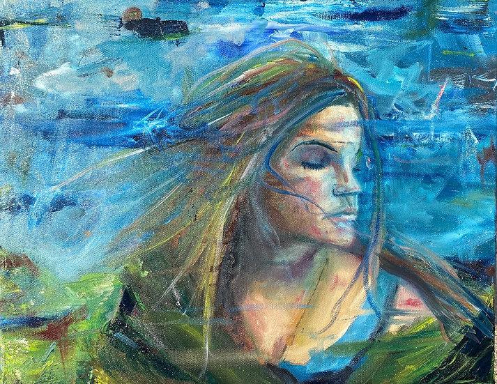 """Reynolds, Daniel 'Ventry Winds', Oil, 16""""x20"""" unframed"""