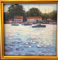 Morning in the Harbor - Christine Bodnar