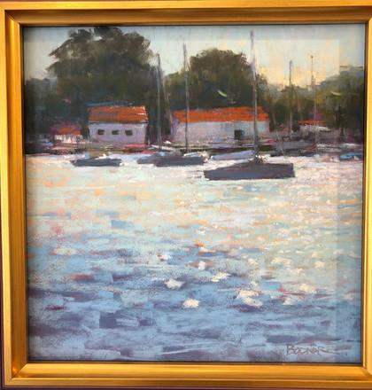 Morning in the Harbor - Christine Bodnar