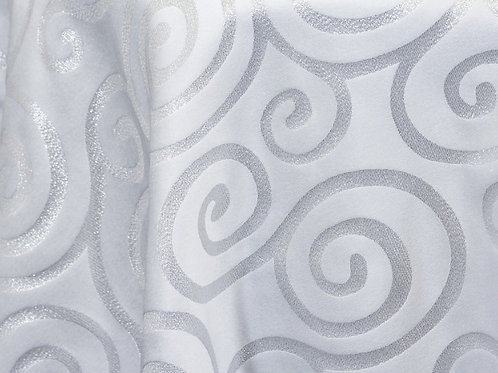 Metallic Scroll Linens