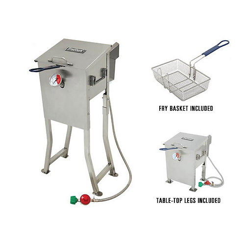 Bayou Classic 2.5 Gallon Deep Fryer