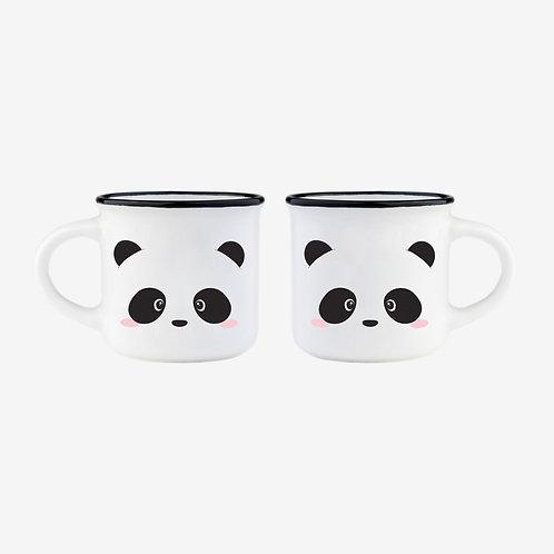Tasses à expresso - Panda