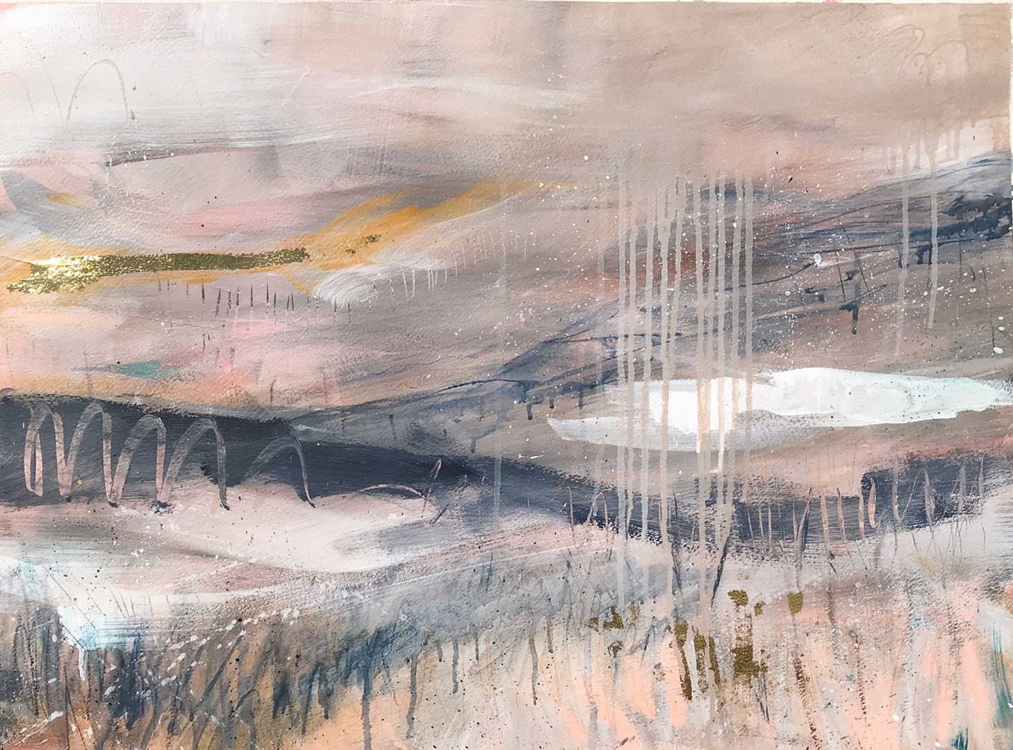 Abstract Landscape Phoebe Gander Art