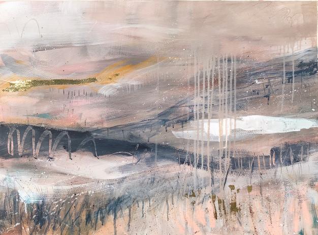 Abstract Landscape Phoebe Gander Art