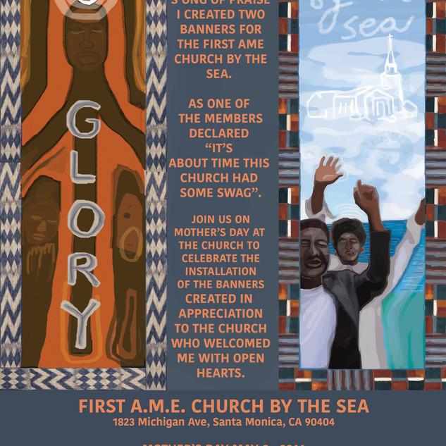 First AME Church of Santa Monica, Banner Dedication Invititation, 2016