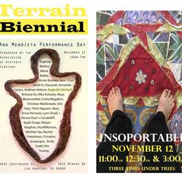 Poster for Terrain Bienneal, 2017