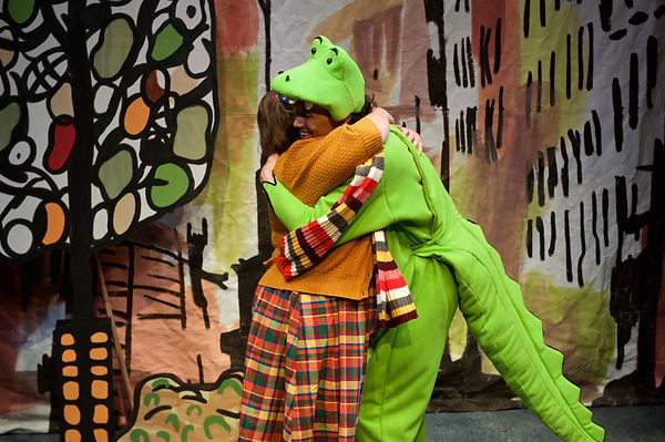 Lyle the Crocodile Costume Design by Sanja Manakoski at Lifeline Theatre Chicago