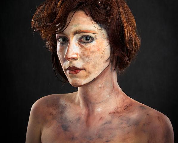 Stage Makeup Artist Make up Egon Schielle Sanja Manakoski
