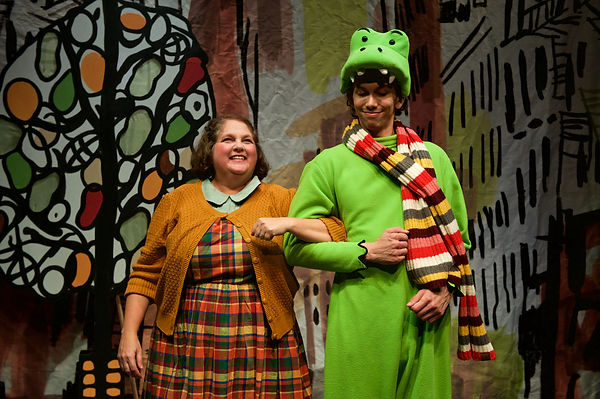 Kids Theatre Lyle the Crocodile Costume Design by Sanja Manakoski at Lifeline Theatre Chicago