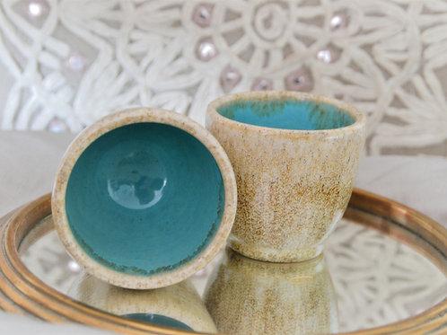 Gobelet turquoise