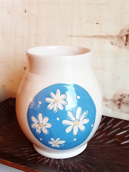 Vase marguerites