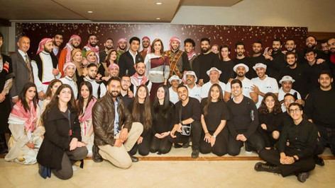 DrumJam with Queen Rania