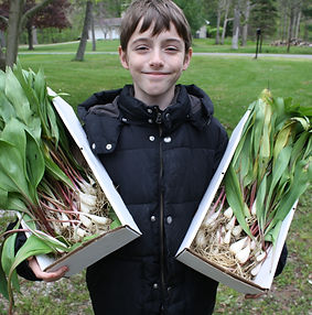 Aidan with ramps