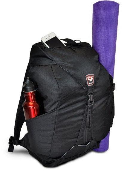 YOGA ME BACKPACK FITMARK - Plecak Sportowy (Czarny)