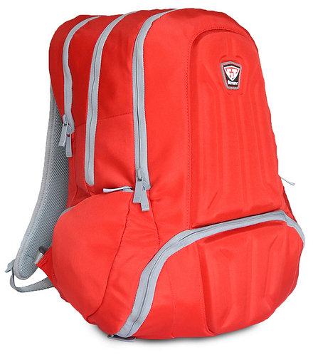 ENVOY BACKPACK FITMARK - Plecak Sportowy + 2 Posiłki (Czerwony)
