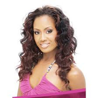 100% REMI HUMAN HAIR WEAVE;EURO DEEP WAVE;CURLY;OUTRE VELVET;SEW-IN;WOMEN