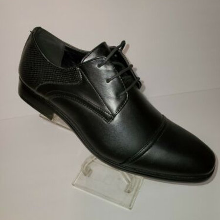 MEN'S OXFORD TRADITIONAL DRESS SHOES;CAP TOE;LACE UP;HENRY UOMO;STYLE 2614