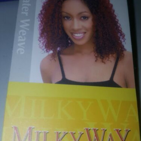 100% HUMAN HAIR WATER WEAVE TANGLE-FREE;CURLY;MILKY WAY;SHAKE N GO;SEW-IN;WOMEN