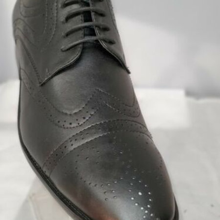 MEN'S OXFORD TRADITIONAL DRESS SHOES;CAP TOE;LACE UP;HENRY UOMO;STYLE 2620