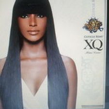 XQ CUTICLE 100% REMY HUMAN HAIR WEAVE; STRAIGHT; WEFT; FOR WOMEN; SHAKE N GO