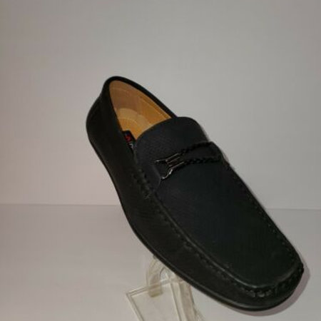 HENRY UOMO MEN'S CASUAL PENNY LOAFER;SLIP ON;RUBBER SOLE; MOC-TOE;MAN MADE