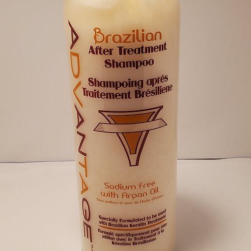 Brazilian after treatment shampoo; sodium free; argan oil; 33.8fl.oz