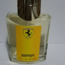 FERRARI YELLOW BY FERRARI FOR MEN;4.2 FL.OZ; EAU DE TOILETTE SPRAY;UNBOXED