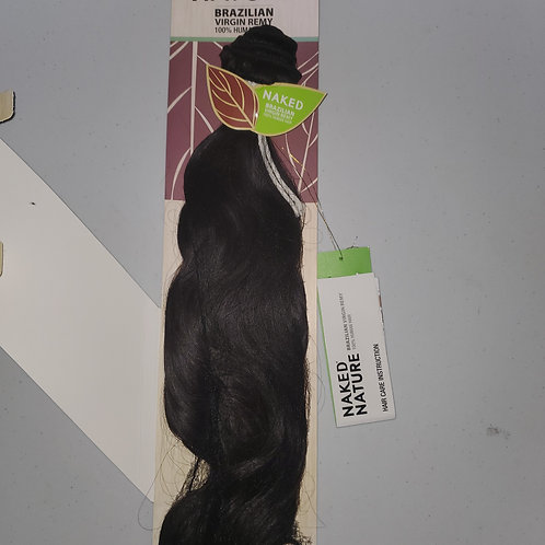 SHAKE N GO NAKED NATURE BRAZILIAN VIRGIN REMY 100% HUMAN HAIR WEAVE;NATURAL WAVE