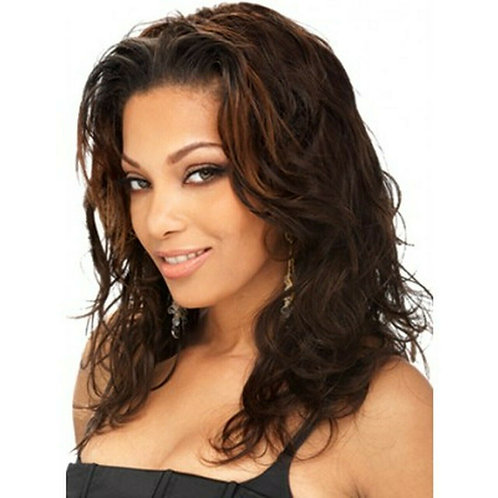 100% HUMAN HAIR WEAVE TANGLE FREE; BODY WAVE;OUTRE PREMIUM;S WAVE;SEW-IN;WOMEN