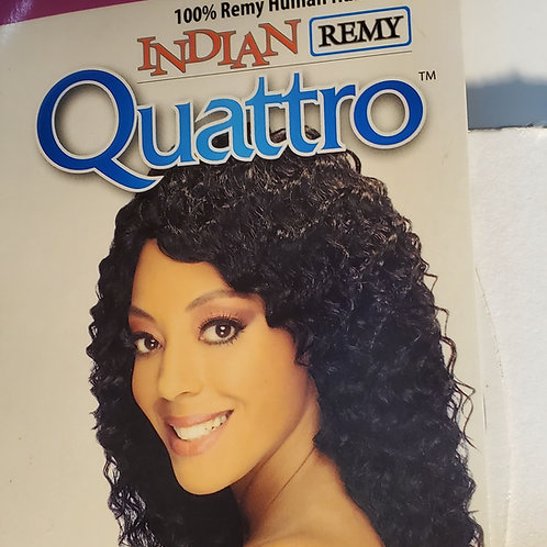 100% Remy human hair weave; Indian remy quattro; New deep; wet and wavy; curly;