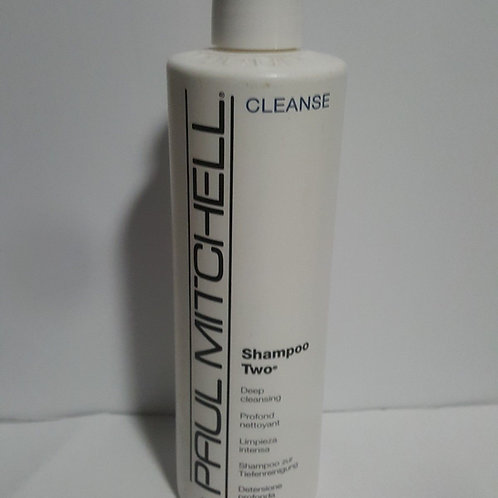 PAUL MITCHELL SHAMPOO TWO CLEANSE FOR UNISEX; DEEP CLEANSING;16.9 FL.OZ/500ML