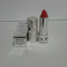 LANCOME ROUGE IN LOVE HIGH POTENCY COLOR LIPSTICK  #187M;RED MY LIPS;0.12 OZ