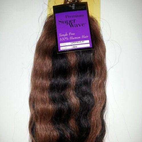 "100% HUMAN HAIR SUPER BULK 16"";OUTRE PREMIUM SUPER WAVE;BRAIDING;WAVY;WOMEN"