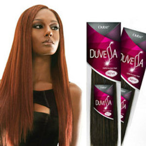 100% HUMAN HAIR REMI WEAVE;STRAIGHT;TANGLE FREE;OUTRE DUVESSA;SEW-IN;WOMEN