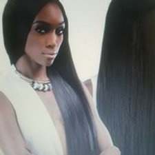 100% HUMAN HAIR YAKI WEAVE;STRAIGHT;OUTRE GEM ARGAN OIL SMOOTH;SEW-IN;SHED FREE