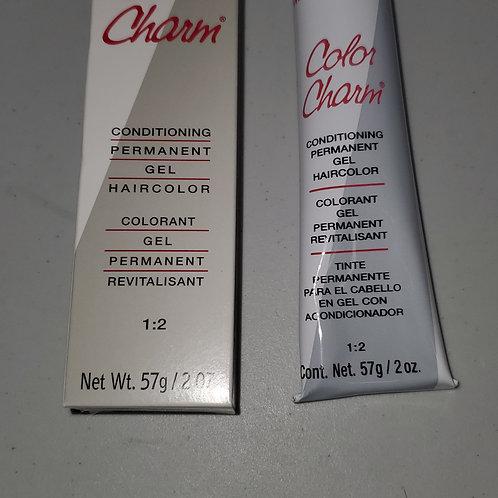 Wella color charm permanent gel conditioning hair color; 2oz; U