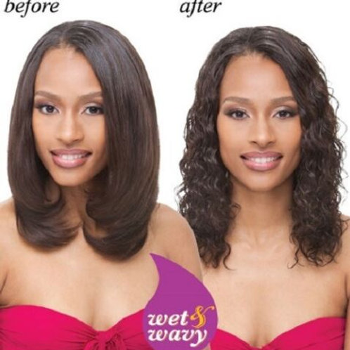 100% INDIAN REMY HUMAN HAIR RIPPLE DEEP WEAVE;JANET;WET & WAVE;CURLY;SEW-IN