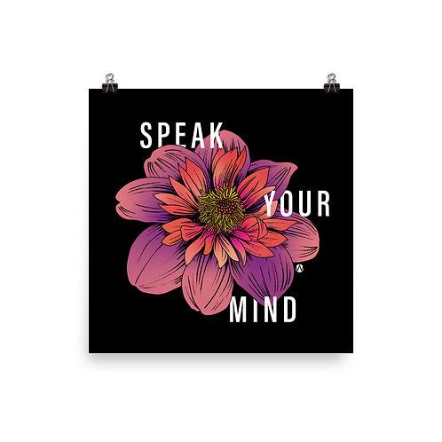 Speak Your Mind - Poster